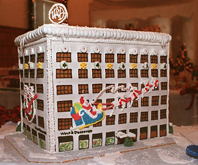 Entries & Donations for Habitat Gingerbread Build Begin